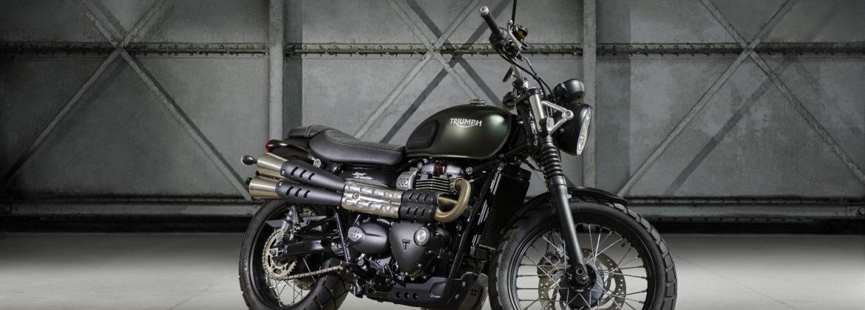 Triumph wyposaża Street Scramblera w silnik Bonneville z 900